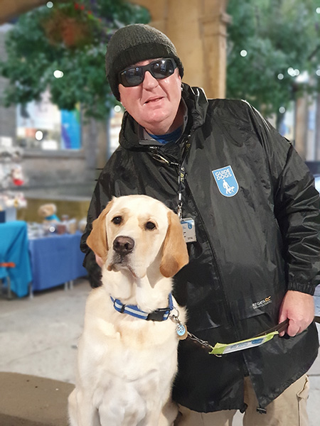 A local Story - Alex and guide dog